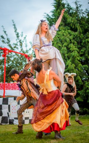 Alice in Wonderland outdoor production at Burwash Manor by Nasu Enzuru