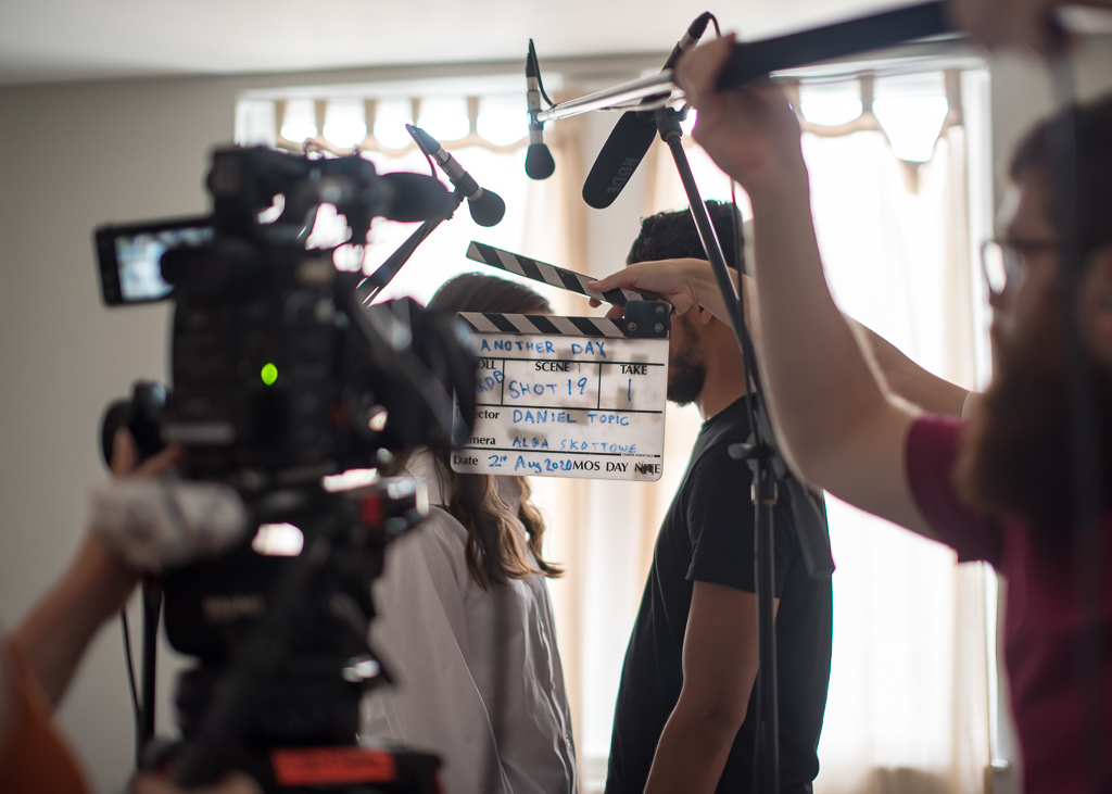 Another Day - Clapperboard