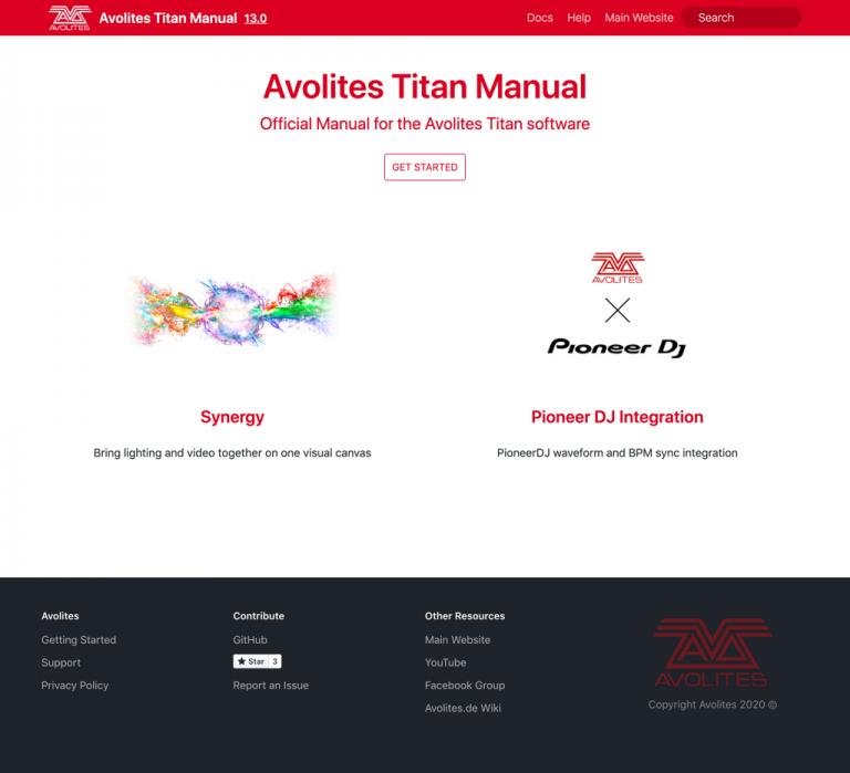 Avolites Titan Manual Website