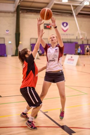 Basketball played at Loughborough University