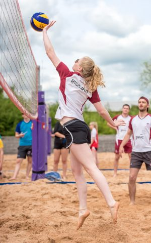 Beach Volleyball at Loughborough University