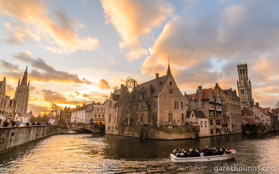 Belgium - Bruges River Corner