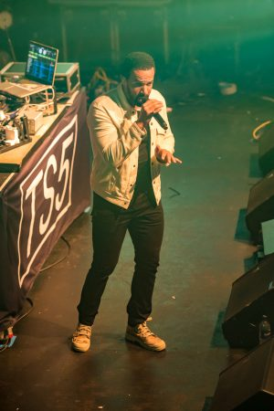 Craig David performing at Loughborough Students