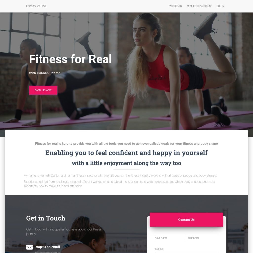 Fitness for Real Website Design