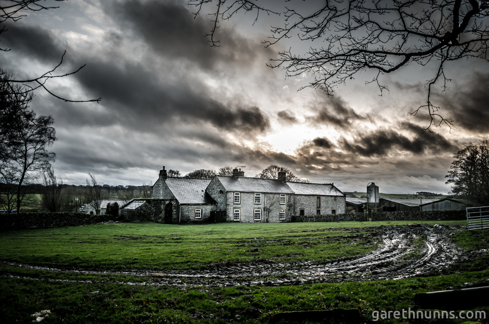 Farm House in the Peak District countryside