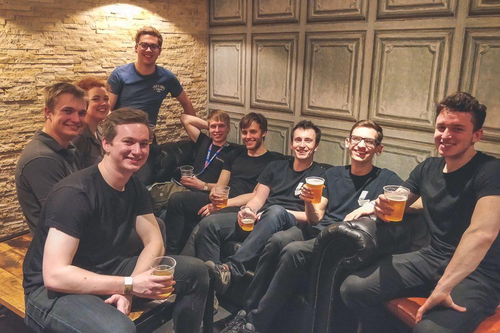 LSU Crew after Exec Elections 2018