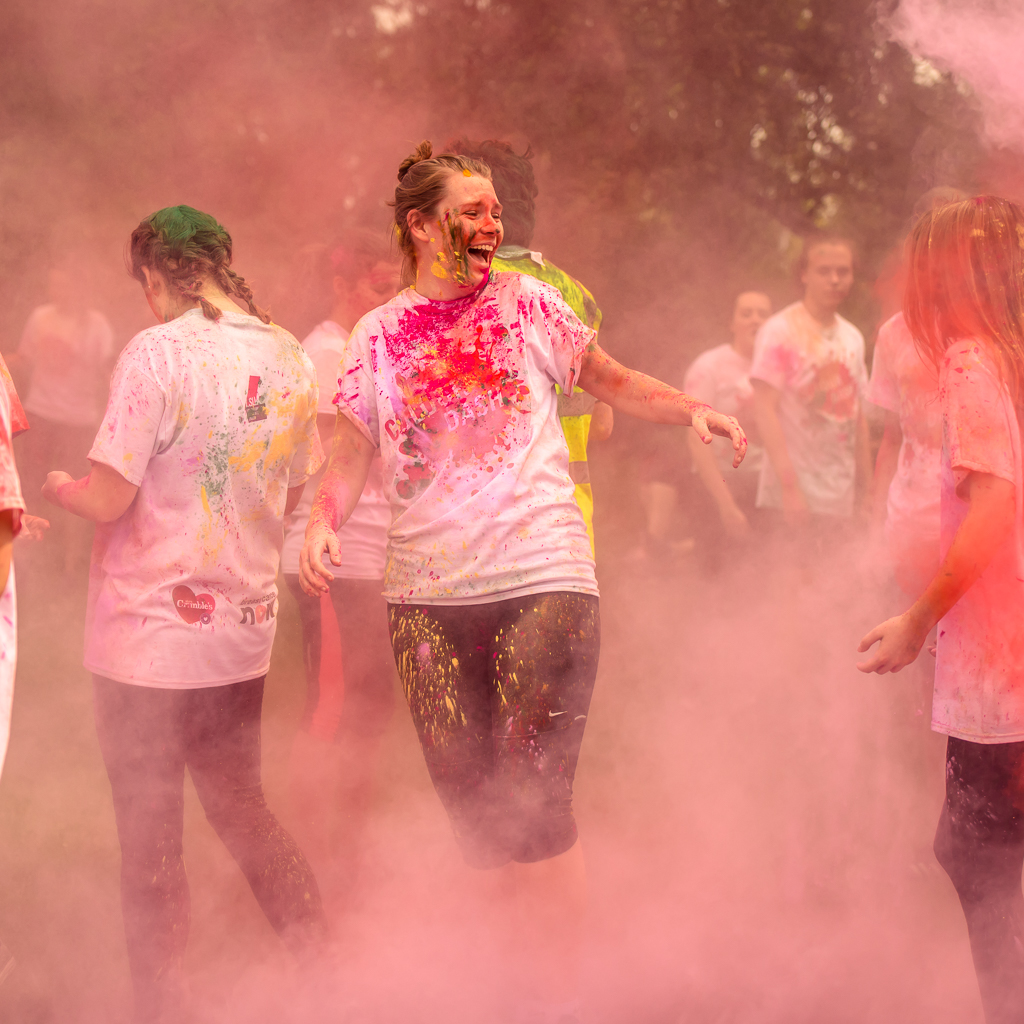 Loughborough Student's Union Rag Charity Colour Run