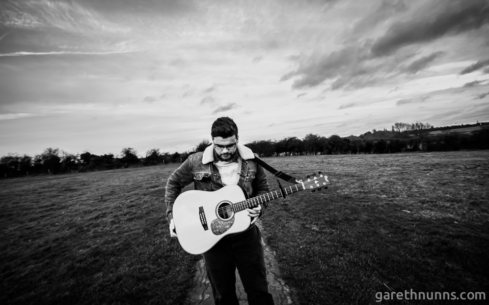 Michael Robshaw in the sunset at Granchester Meadows, Cambridge