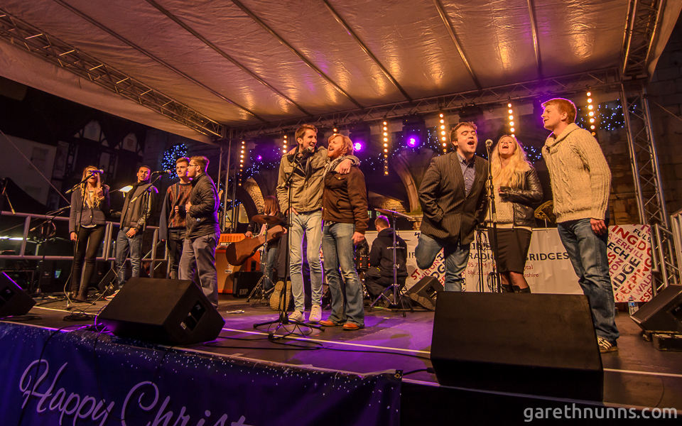 NMG Collective at the Peterborough Christmas lights switch on