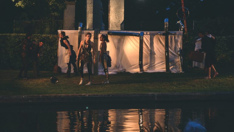 Nasu Enzuru - A Midsummer Night's Dream performed across the River Cam in Cambridge