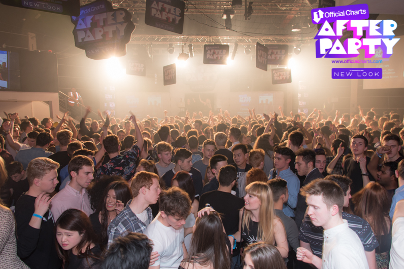 Official Charts After Party at Loughborogh Students' Union in Room 1