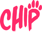 Official Chip logo transparent