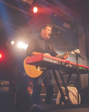 Scouting for Girls performing in Room 1 at Loughborough Students' Union Grad Ball 2018