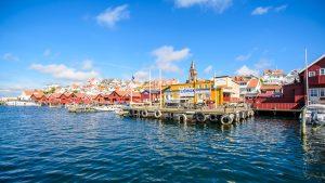 Swedish seafront