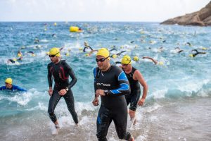 Swimming Triathlon in Spain