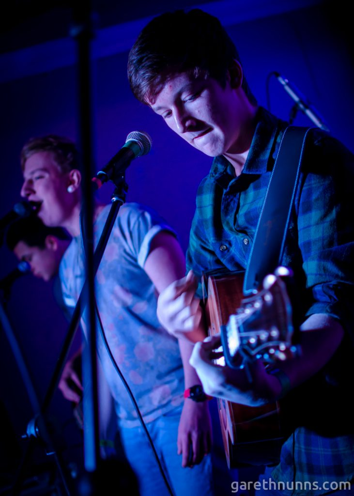 The Staycations at the Under 18 Cambridge Band Competition in the Portland Arms