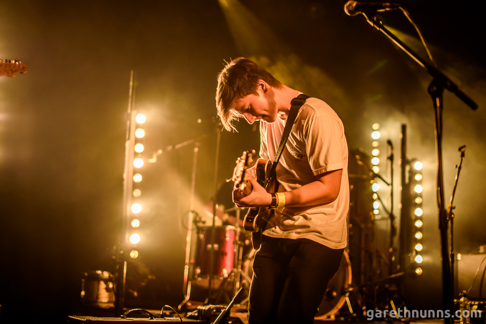 The Staycations guitarist live at The Junction Cambridge