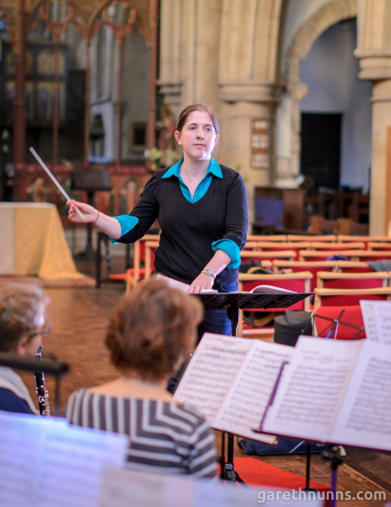 University of Cambridge Concert Band UCCB conductor