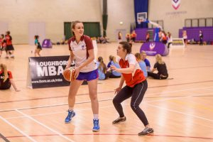 Womens' Basketball played at Loughborough University